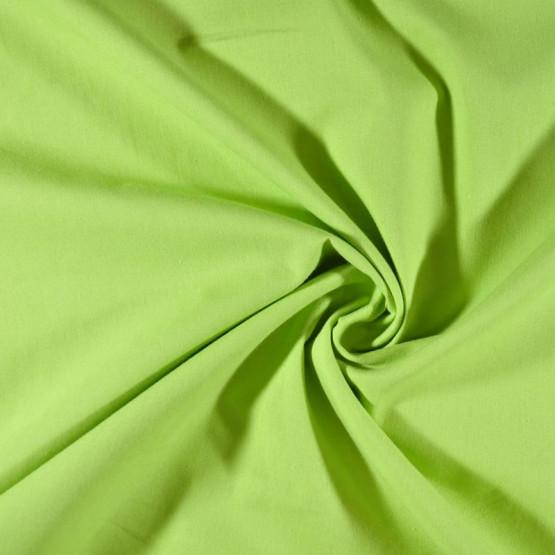 Tecido Tricoline Lisa Texline Verde Pistache Larg. 150cm 100% Algodão