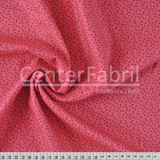 Tecido Tricoline Estampa Sementinhas Rosa Largura 150cm 100%Algodão Conserv 1-I/2-2/3-2/4-1/5-2/6-1