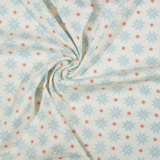 Tecido Tricoline Col. Natal Winter Christmas 05 Larg.150cm 100%Algodão