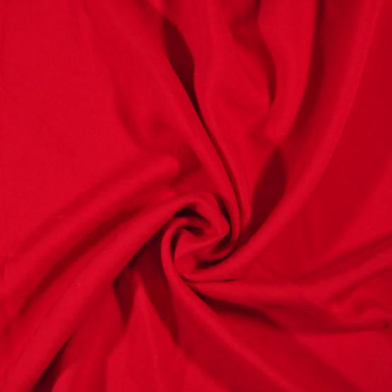 Tecido Viscose Lisa Vermelho Ferrari Larg140cm 100%Viscose 92gr/m2.Conserv1-N/2-2/3-2/5-3/6-1