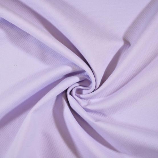 Tecido Piquet Grão de Arroz/Favinho/Colmeia cor: Lilás Larg 1,40mt 100% algodão