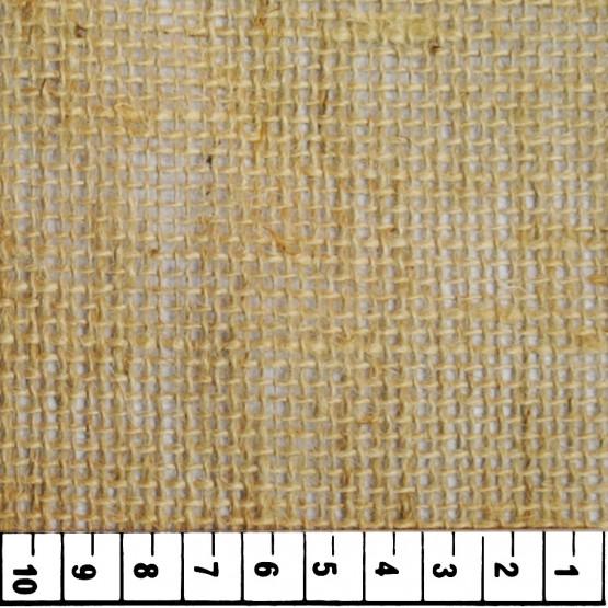 Tecido de Juta Cru- 10/40  SF9 - Larg.100cm 100%Cânhamo 329gr/m²