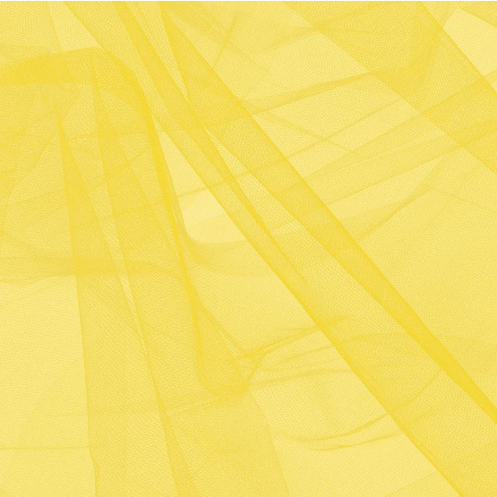 Tule Amarelo Ouro Largura 240cm 100% Poliamida