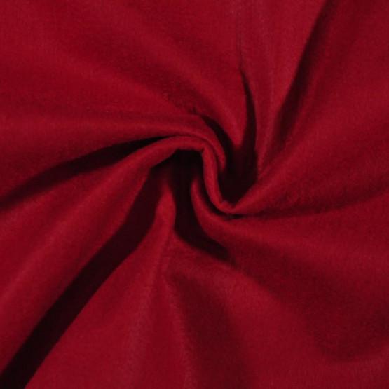 Feltro Liso Vermelho Noel cor 65 Larg.140cm 100% Poliester