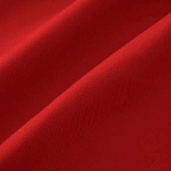 Tecido Brim Sarja Extra Pesado Peletizado Delfi Vermelho Larg 160cm 100% Algodão 300gr/m2