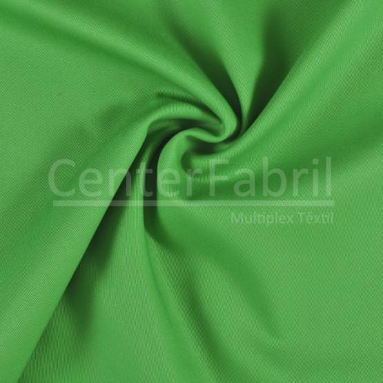 Tecido Cedrobrim Sarja Pesado Verde Bandeira Largura de 160cm 100% algodão - 260gr/m2