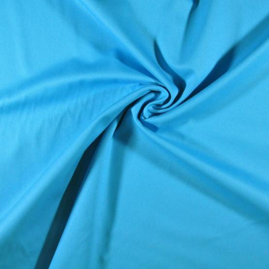 Tecido Brim Sarja Leve Azul Turquesa Largura 1,60mt 100%algodão 200gr/m2