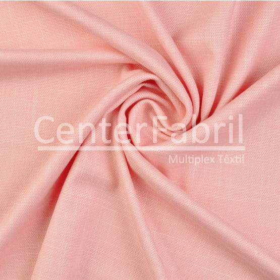 Tecido Alfaiataria Rústico Ducati Rosa Largura 147cm 50%Poliester 47%Viscose 3%Elastano
