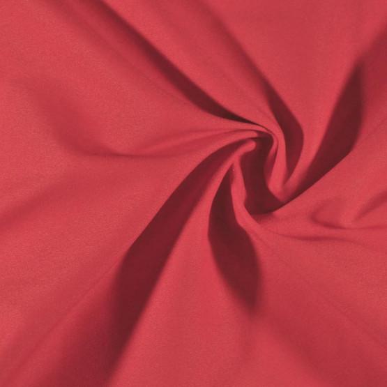 Tecido Bengaline Crepe Madrid Vermelho Larg 150cm  92%Poliester 8%Elastano - no urdume
