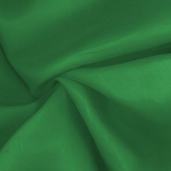 Tecido Cetim Visom Verde Bandeira com 1,5mts de Largura 100% poliester - Preço por metro