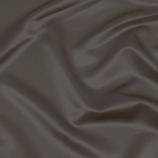 Tecido Cetim Charmeuse c/elastano Liso Cinza Chumbo Larg147cm 97%Poliester.3%Elastano. Conserv1-J/2-2/3-3/4-5/5-3/6-1