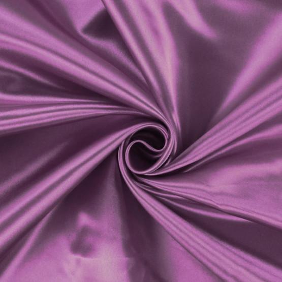 Tecido Cetim Charmeuse c/elastano Liso Violeta Antigo Larg147cm 97%Poliester.3%Elastano. Conserv1-J/2-2/3-3/4-5/5-3/6-1