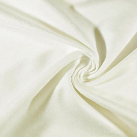 Tecido Suede Moda Liso Crú Larg 150cm 100%Poliester 160gr/m2. Conserv 1-H/2-2/3-3/5-4/6-2/4-3