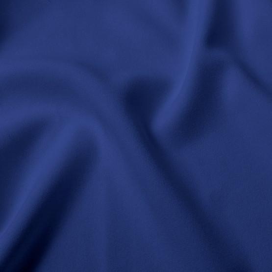 Tecido Crepe Royalle Azul Bic Larg 150cm 100%Poliester 136gr/m2