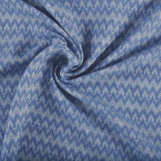 Tecido Reciclado Jacquard Jeans Chevron Largura140cm 77%Algodão/23%Poliester. Conserv 1-H/2-2/3-3/4-4/5-2/6-1