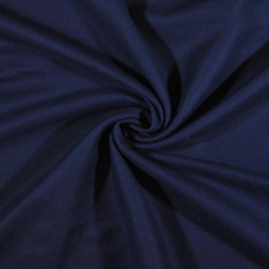 Tecido Flanela Lisa Azul Marinho Sarjada Top Larg.160cm 100%Algodão