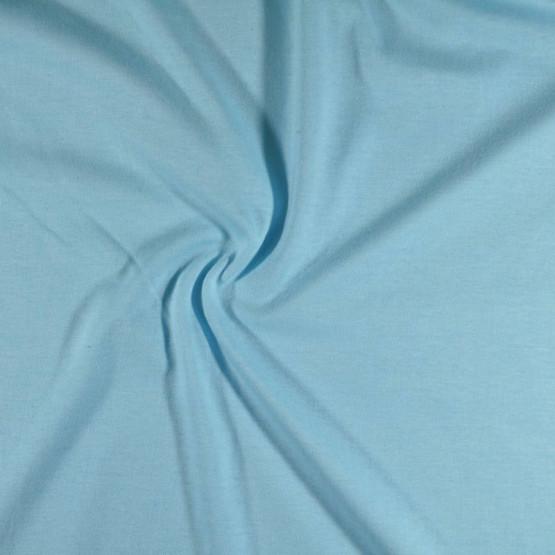 Meia Malha Azul Bebê Fio Pentado 30/1 Tubular Larg.90cm 100% Algodão- Preço por metro - 150gr/M2