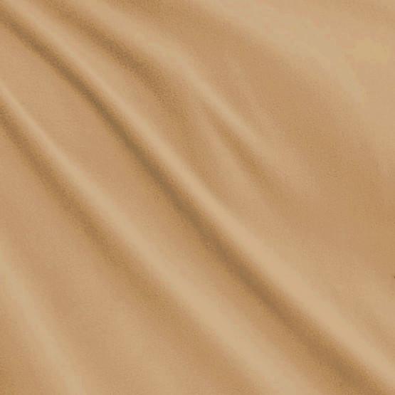 Tecido Malha Plush Satin Aveludado Bege Largura 150cm 100%Poliester - preço por metro
