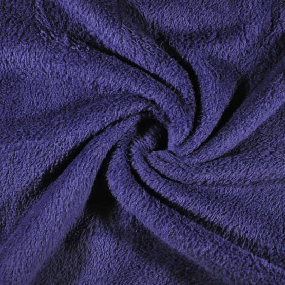 Tecido Plush Soft Aveludado Liso Azul Navy Largura 240cm 100%Poliester 180gr/m2-preço por metro