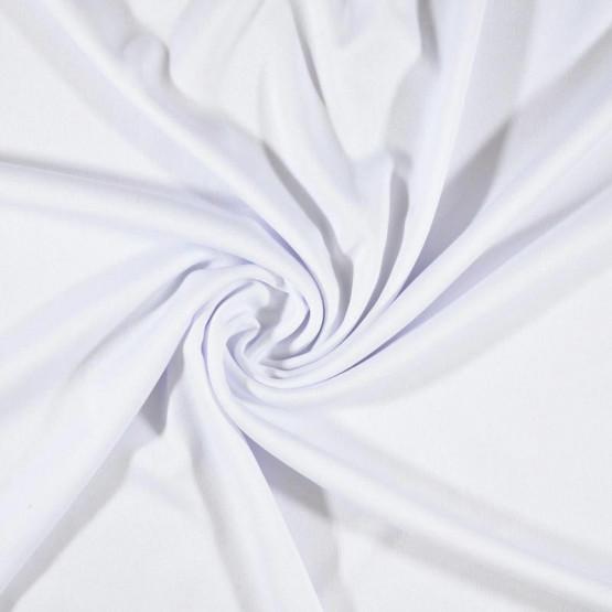 Malha Helanca Light Branca Larg.160cm 100% Poliester - Preço por metro. Conserv1-I/2-2/3-3/4-3/6-1