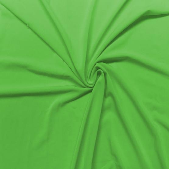 Malha Helanca Light Verde Chroma key Lg.160cm 100%Poliester ref.046 -  Preço por metro. Conserv 1-M/2-2/3-2/5-3/6-1/6-3
