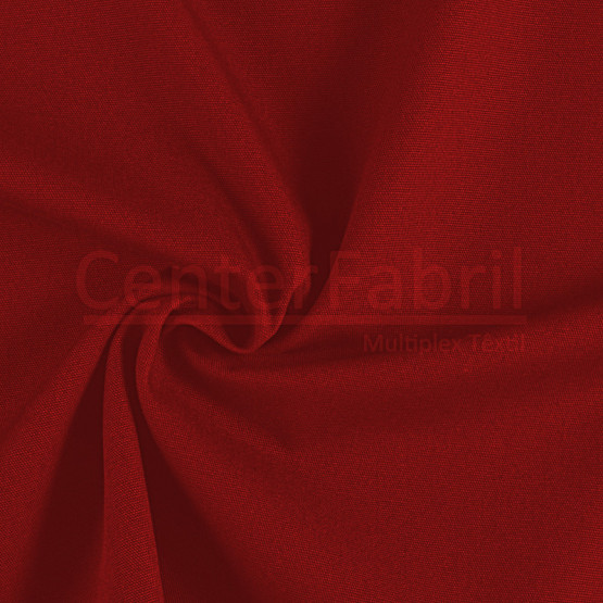 Tecido Lona Olimpo Vermelho Toque Macio Larg. 140cm 100%Algodão 387gr/m2.Conserv1-I/2-2/3-2/5-3/6-8