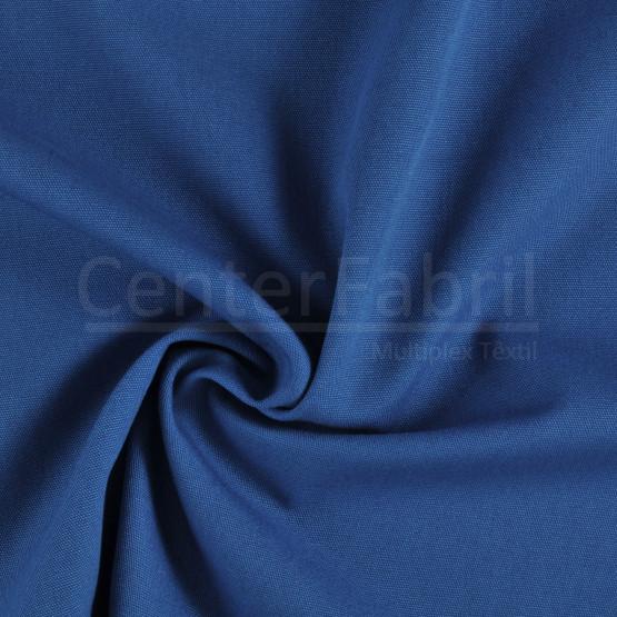 Tecido Lona Olimpo Azul Royal Toque Macio Larg. 140cm 100%Algodão 387gr/m2.Conserv1-I/2-2/3-2/5-3/6-8