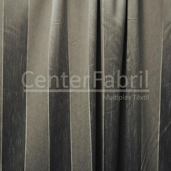 Tecido para Cortina Tafetá com linho Leve Taupe Fuji Larg.2,80m 93,8%Poliester/6,2%Linho ref.2454c05