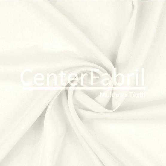Tecido Chiffon Liso Off White Largura 3,00 mt 100%Poliester 80gr/m2  ref5469 cor21.Conserv1-I/2-2/3-2/4-1/5-4/6-1