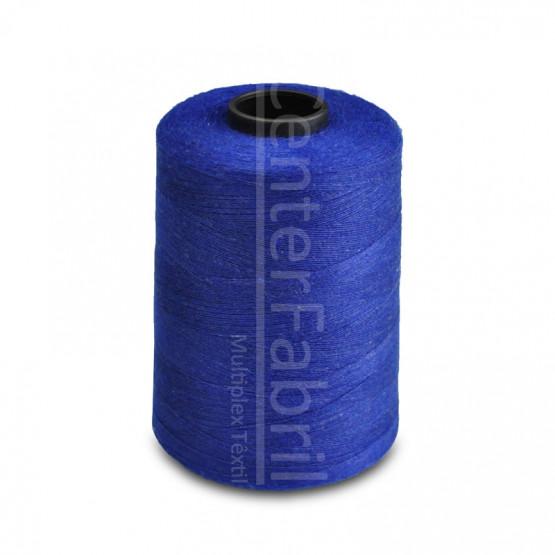 Linha Anti-Chama cor Azul Royal 100% de meta-aramida Cone com 4500mts - PREÇO POR CONE