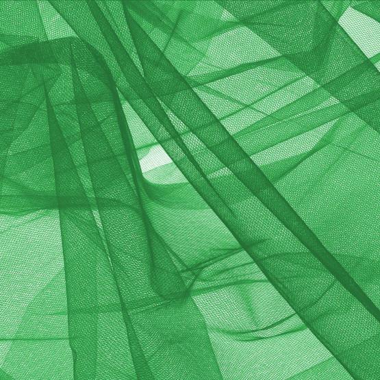 Tule Verde Bandeira Largura 240cm 100% Poliamida