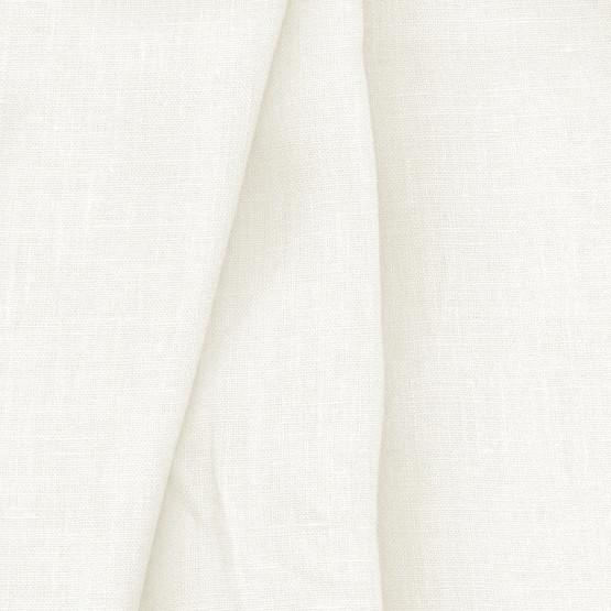 Tecido Cambraia Linho Off-White/Marfim Larg 145cm 100% Linho ref 180/201 125gr/2