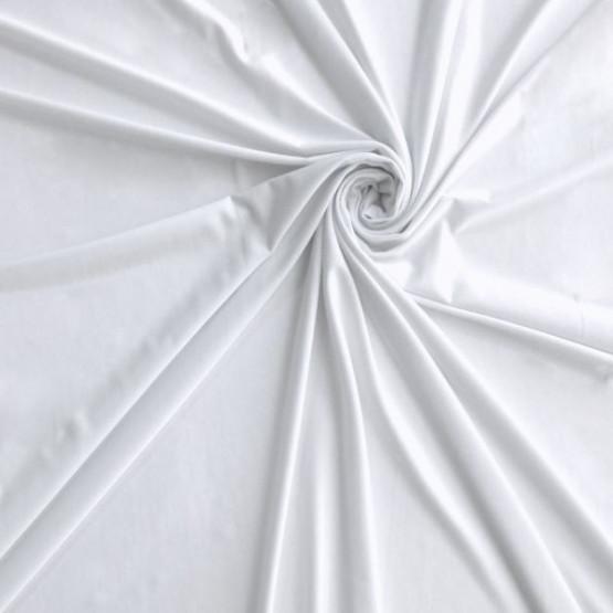 Tecido Malha Liganete Branca Larg 160cm 96%Poliester 4%Elastano 170gr/m2 -  Preço por metro Conserv. 1-N/2-2/3-3/4-5/5-3/6-1
