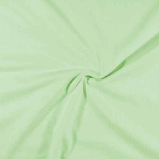 Meia Malha Verde Bebê Fio Pentado 30/1 Tubular Larg.90cm 100% Algodão- Preço por metro - 150gr/M2