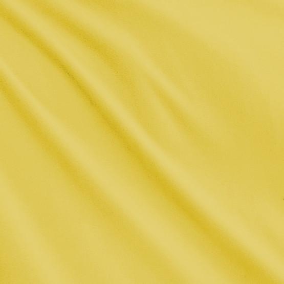 Tecido Malha Plush Microfibra Aveludado Amarelo Largura 160cm 100%Poliester 215gr/m2- preço por metro