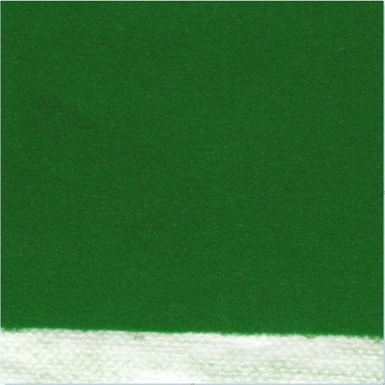 Veludo Flocado Sintético Verde Bandeira para artesanato Larg140cm Base 100%Polipropileno Sup.100%Poliamida